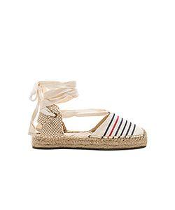 Soludos | Striped Gladiator Sandal