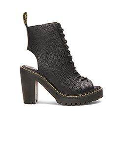 Dr. Martens | Carmelita Open Heel Lace Up Boot