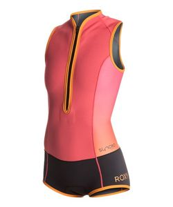 Roxy | Syncro 1mm Front Zip Short Spring Suit