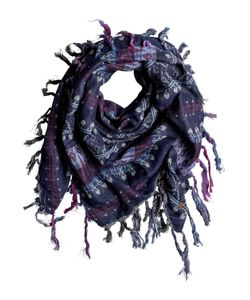 Roxy | Easy Blues Square Scarf