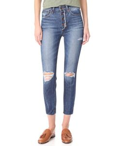 Joe'S Jeans   Укороченные Джинсы-Скинни Charlie С Высокой Посадкой