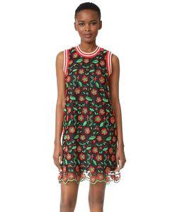 Anna Sui | Спортивное Свободное Платье Poppy Trellis