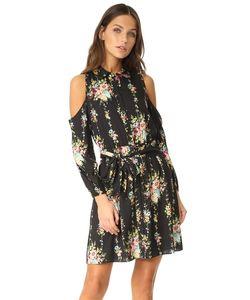 Alice + Olivia | Платье-Рубашка Karina С Открытыми Плечами