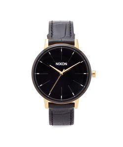 Nixon | Часы Kensington С Кожаным Ремешком