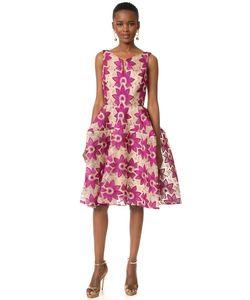 Zac Posen   Платье С Цветочным Рисунком