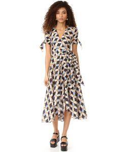 Milly | Платье Valerie С Принтом В Виде Цепочки