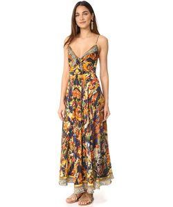 Camilla | Длинное Платье С Завязками Спереди