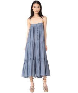 A PIECE APART | Платье Tangiers С Тонкими Бретельками