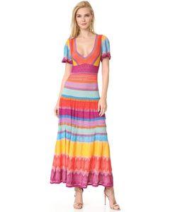 Temperley London | Трикотажное Платье Midi Sunlight