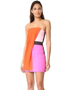 Barbara Bui | Разноцветное Платье Без Бретелек