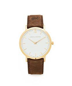 LARSSON & JENNINGS | Lugano Leather Strap Watch