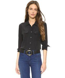 Equipment | Облегающая Фирменная Блуза