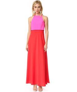 JILL JILL STUART | Двухцветное Вечернее Платье