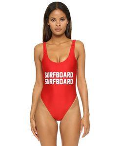 Private Party | Сплошной Купальник С Надписью Surfboard Surfboard