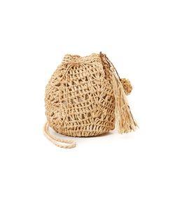 Hat Attack | Сумочка-Мешочек Из Рафии