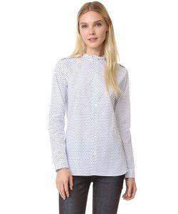 MARIE MAROT | Рубашка Diana С Оборками На Воротнике