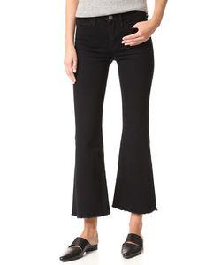 Mih Jeans | Расклешенные Потрепанные Джинсы Lou