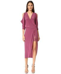 Michelle Mason | Платье С Открытыми Плечами И Кружевом