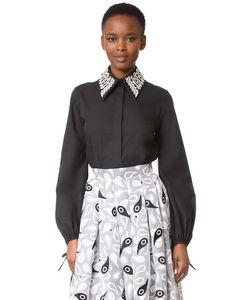 Holly Fulton | Рубашка С Вышивкой И Воротником