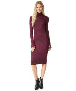 RODEBJER | Вязаное Платье С Воротником Под Горло