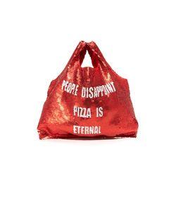 MUA MUA | Сумка Для Супермаркета People Disappoint Pizza Is Eternal