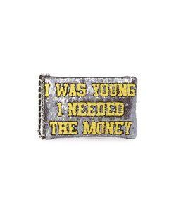 MUA MUA | Сумочка На Молнии С Надписью I Was Young I Needed The