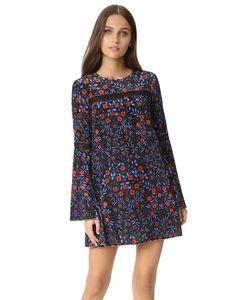Cynthia Rowley | Платье-Трапеция С Цветочным Рисунком В Фольклорном Стиле