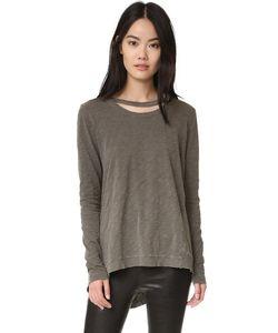 Wilt | Пуловер С Двойным Необработанным Вырезом