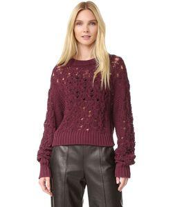 PUBLIC SCHOOL | Пуловер Из Трикотажа Жемчужной Вязки И Вязки Косичками