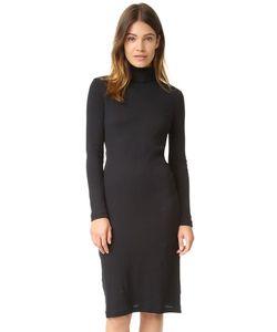 Petit Bateau | Платье 2x2 В Рубчик С Воротником Под Горло