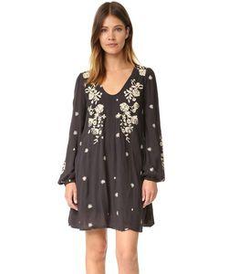 Free People | Очаровательное Мини-Платье Tennessee С Вышивкой