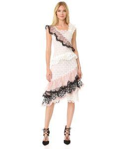 Rodarte | Оборчатое Кружевное Платье