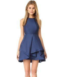 Halston Heritage | Структурированное Платье С Высоким Воротником
