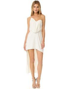 Halston Heritage | Асимметричное Платье С Драпировкой