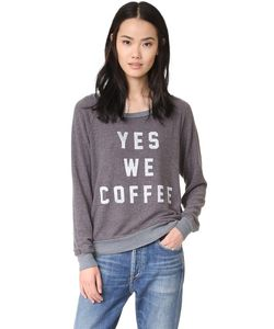 Sol Angeles   Толстовка С Надписью Yes We Coffee