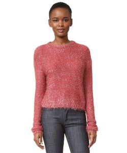 Tibi | Легкий Пуловер Glean С Округлым Вырезом