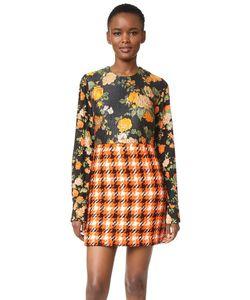 MSGM   Платье Silk Plaid