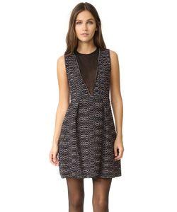 Missoni | Платье С V-Образной Прозрачной Вставкой