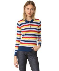 Holly Fulton | Рубашка-Поло В Широкую Полоску