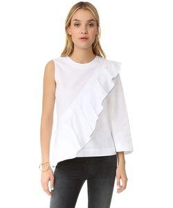 BCBGMAXAZRIA | Блуза Leilone С Оборками И Открытым Плечом