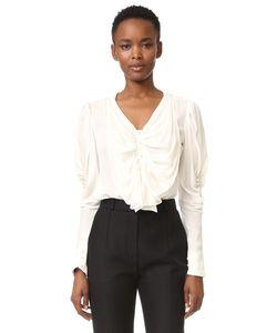 Rodarte | Шелковая Блуза С Бантом