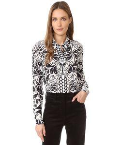 Holly Fulton | Шелковая Рубашка С Принтом
