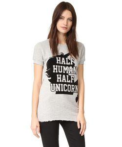 CHRLDR | Толстовка Half Unicorn С Короткими Рукавами