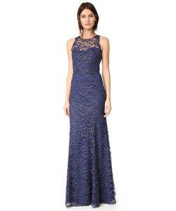 Marchesa Notte | Кружевное Вечернее Платье