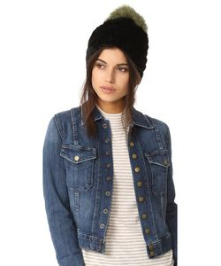 JOCELYN | Mink Tails Beanie With Fur Pom Pom
