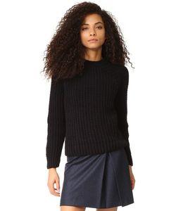 Maison Kitsune | Пуловер Velvet Из Толстого Трикотажа