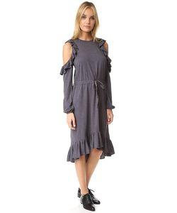 Clu | Платье С Открытыми Плечами