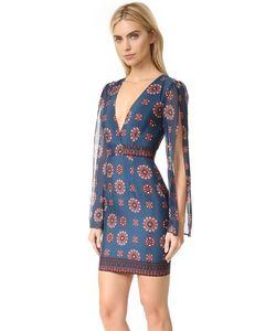 Nicholas | Мини-Платье Marrakesh С Разрезами На Рукавах