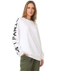 BAJA EAST   Dont Panic Long Sleeve Sweatshirt