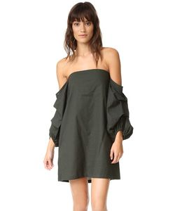 MLM LABEL   Платье Pillar С Открытыми Плечами